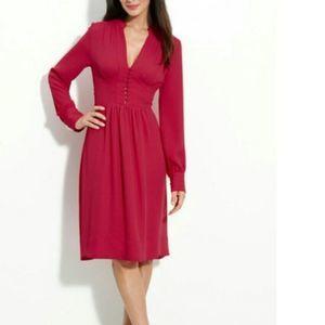 BCBGMaxAzria Fabiana Dress in Sangria